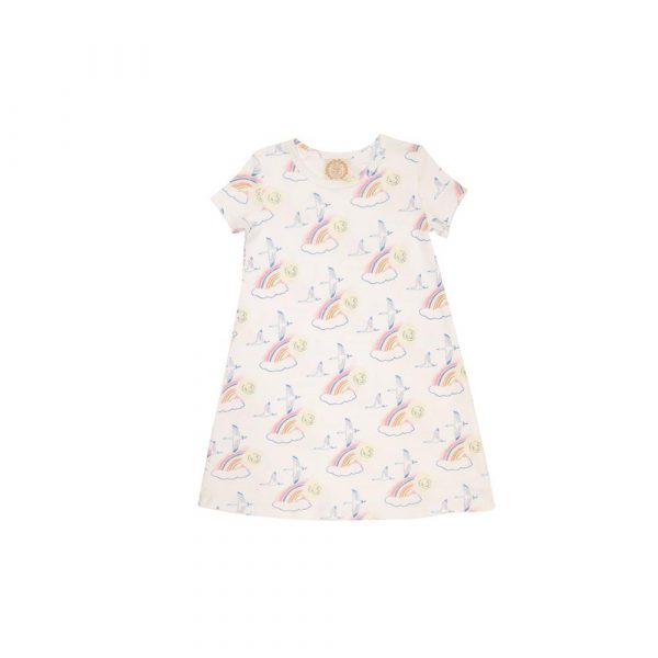 THE BEAUFORT BONNET COMPANY POLLY PLAY DRESS - ONCE UPON A RAINBOW