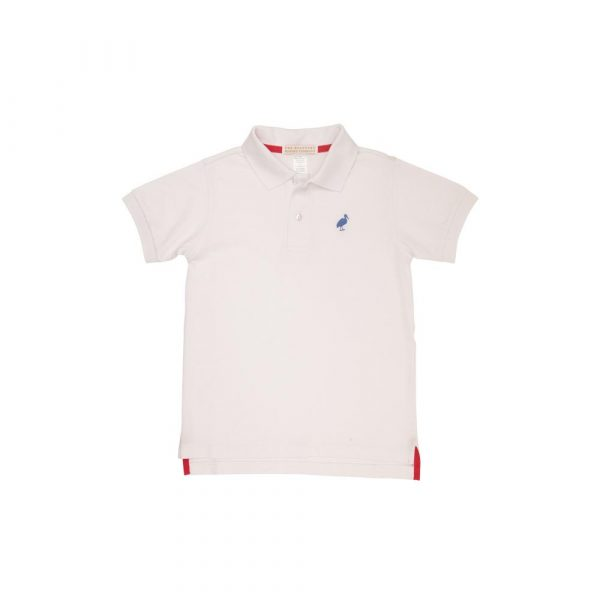 THE BEAUFORT BONNET COMPANY PRIM AND PROPER POLO - WORTH AVE WHITE