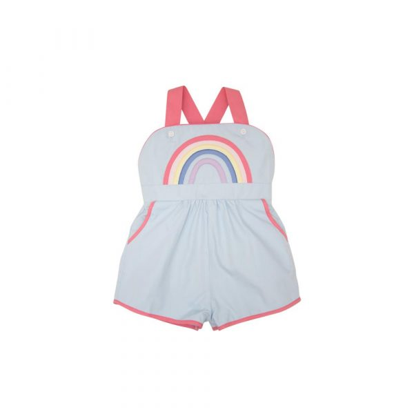 THE BEAUFORT BONNET COMPANY RUTHIE ROMPER - RAINBOW
