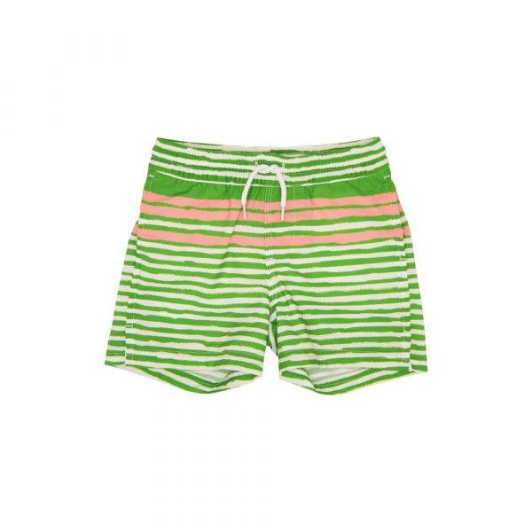 THE BEAUFORT BONNET COMPANY TORTOLA SWIM TRUNKS - STRATFORD STRIPE