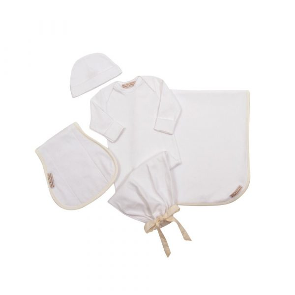 THE BEAUFORT BONNET COMPANY WORTH AVE WHITE - DARLING DEBUT GIFT SET