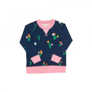 THE BEAUFORT BONNET COMPAPNY CASSIDY COMFY CREWNECK - LOVE BLOOMS