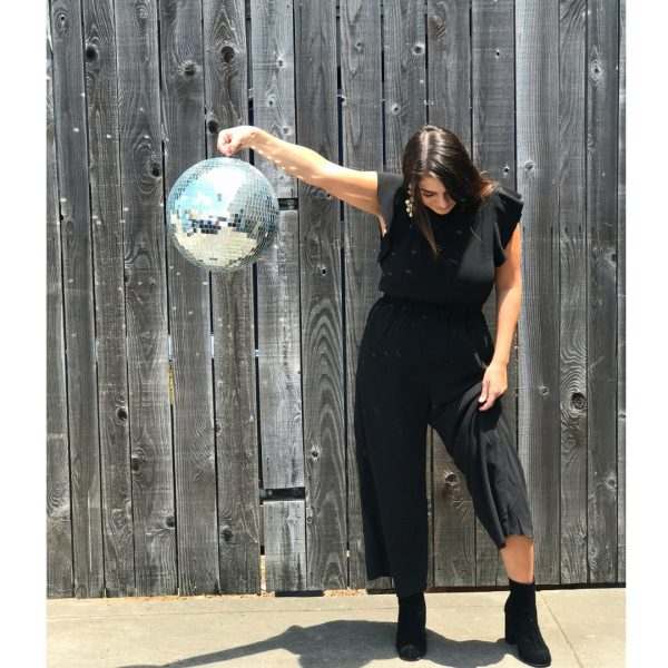 THE CAROL JUMPSUIT IN BLACK