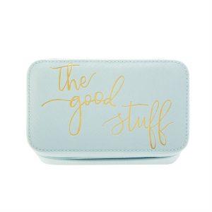 THE GOOD STUFF RECTANGLE JEWELRY BOX