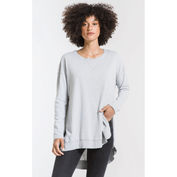 THE WEEKENDER HEATHER GREY TOP