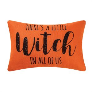 THERE'S A LITTLE WITCH PILLOW