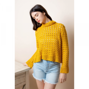 THML YELLOW SWEATER