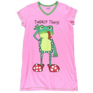 TOADALLY TIRED NIGHTSHIRT