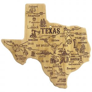 TOTALLY BAMBOO TEXAS CUTTING BOARD