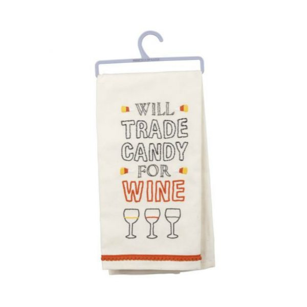 TRADE CANDY DISH TOWEL
