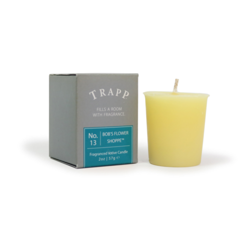 TRAPP FRAGRANCES BOB'S FLOWER SHOPPE VOTIVE