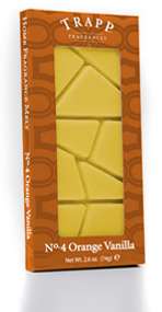 TRAPP FRAGRANCES ORANGE VANILLA HOME FRAGRANCE MELT