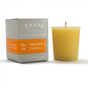 TRAPP FRAGRANCES ORANGE VANILLA VOTIVE