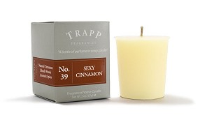 TRAPP FRAGRANCES SEXY CINNAMON VOTIVE