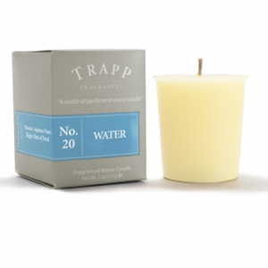 TRAPP FRAGRANCES WATER VOTIVE