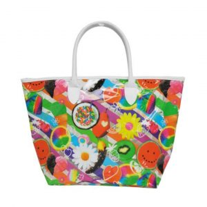 TUTTI FRUITI CLEAR TOTE BAG