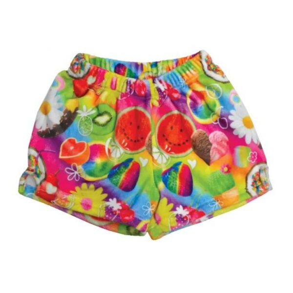 TUTTI FRUITI PLUSH SHORTS
