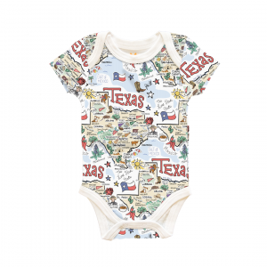 TX MAP BABY ONESIE