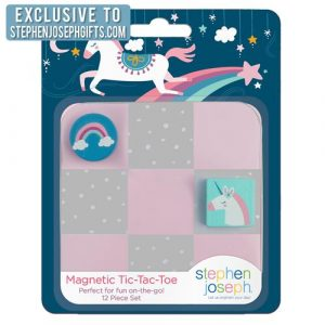STEPHEN JOSEPH UNICORN MAGNETIC TIC TAC TOE