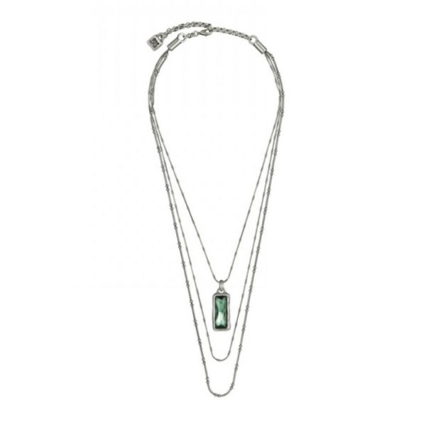 UNO DE 50 AURORA BOREALIS NECKLACE IN GREEN