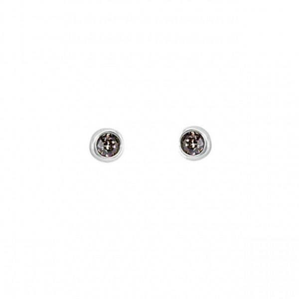 UNO DE 50 EGO EARRINGS IN GREY