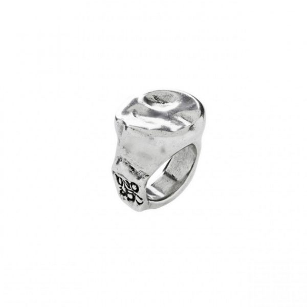UNO DE 50 IT MARKS ME RING IN SILVER