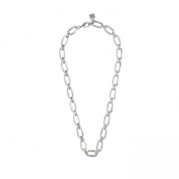 UNO DE 50 LINK NECKLACE IN SILVER