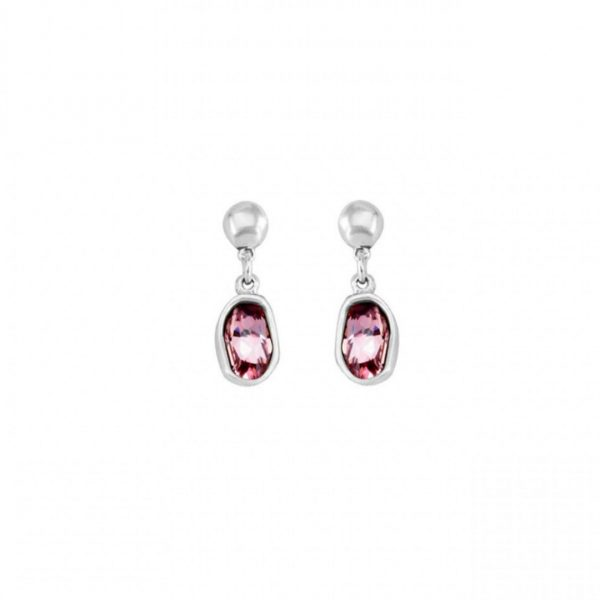 UNO DE 50 ON TIP TOES EARRINGS IN PINK