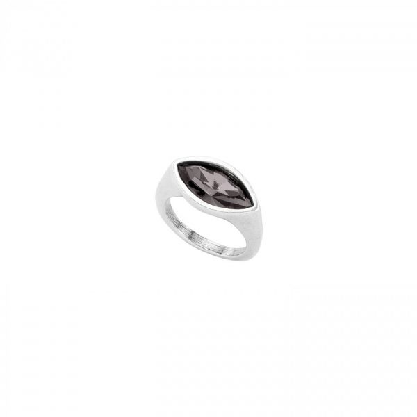 UNO DE 50 POP EYE RING IN BLACK