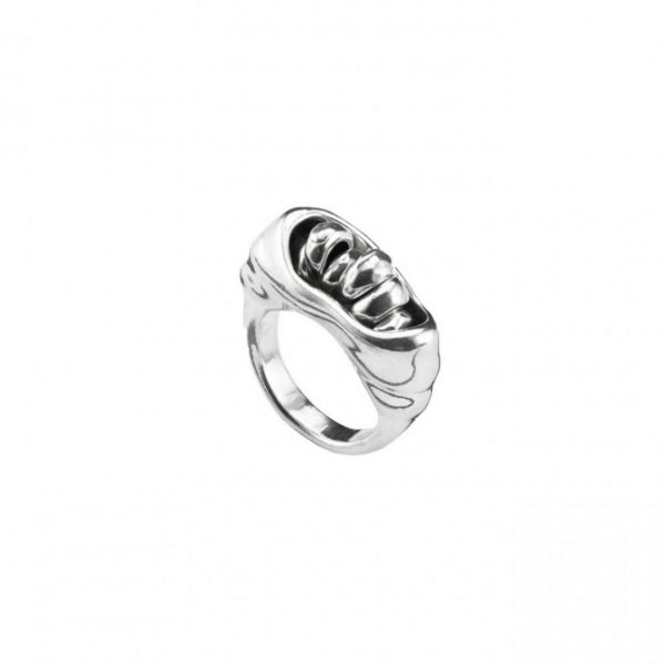 UNO DE 50 SAHARA RING IN SILVER