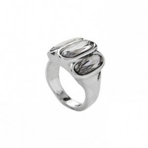 UNO DE 50 STRONGER RING IN GREY