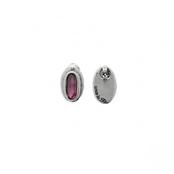 UNO DE 50 THE BRAVE EARRINGS IN PURPLE