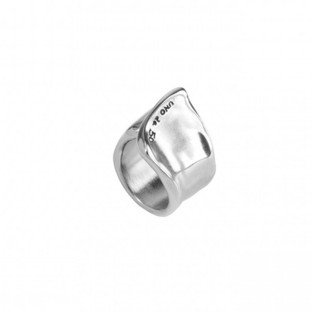 UNO DE 50 THE CREVICE RING IN SILVER