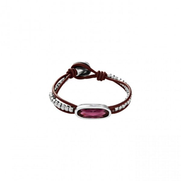 UNO DE 50 THE TRIBE BRACELET IN PURPLE