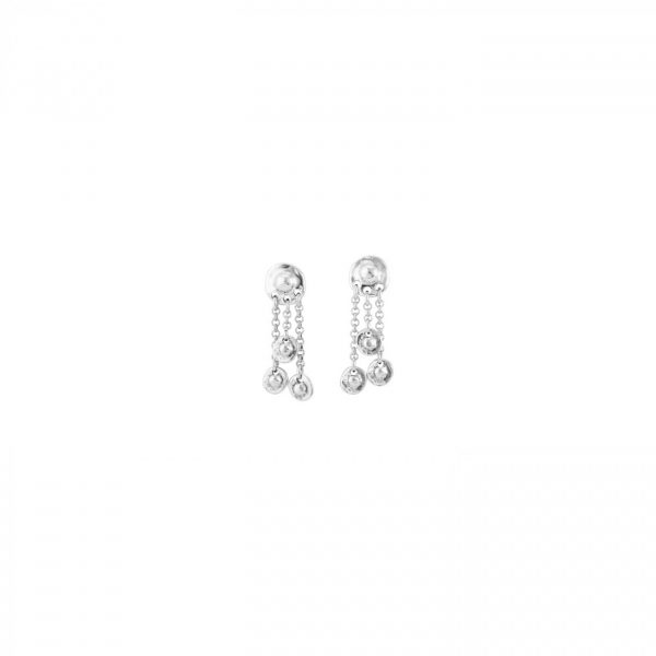 UNO DE 50 TLALOCAN EARRINGS IN SILVER