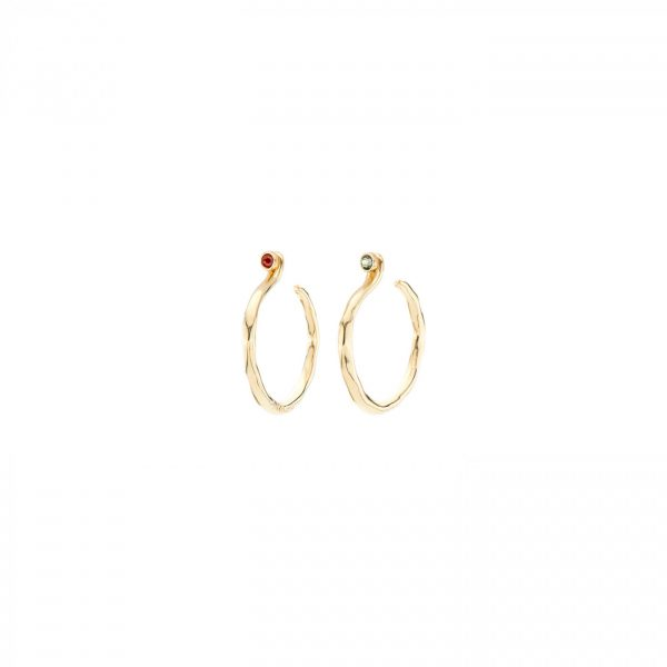 UNO DE 50 UNDER PROTECTION EARRINGS IN GOLD
