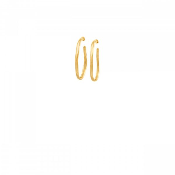 UNODE50 OHMMM... EARRINGS IN GOLD