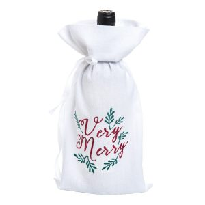 VERY MERRY WINE BAG