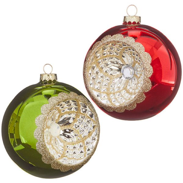 VINTAGE BALL ORNAMENTS