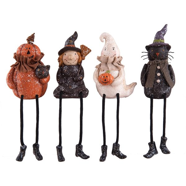 VINTAGE HALLOWEEN SHELF SITTERS