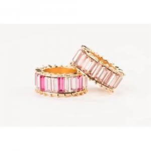 VIOLET & BROOKS PINK MULTI ELYSE RING