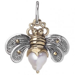 WAXING POETIC BEE BRAVE HONEYPEARL CHARM