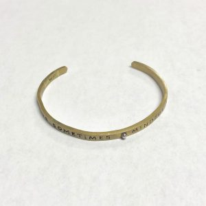 WAXING POETIC CAUTIOUS SOMETIMES MINDFUL ALWAYS PLANETARY CUFF - SEPTEMBER