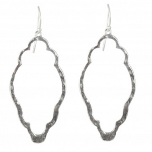WAXING POETIC CLOVER OPEN UP EARRINGS