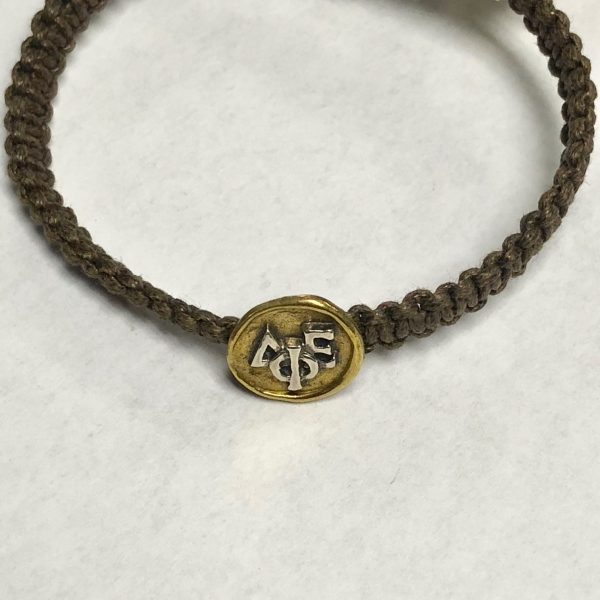 WAXING POETIC GREEK SORORITY BRACELET - DELTA PHI