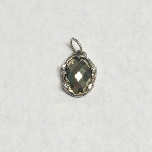 WAXING POETIC STELLARE PYRITE STONE CHARM