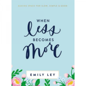 WHEN LESS BECOMES MORE