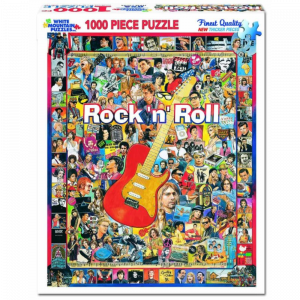 WHITE MOUNTAIN PUZZLES ROCK 'N' ROLL PUZZLE