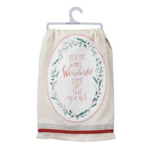 WONDERFUL TIME DISH TOWEL
