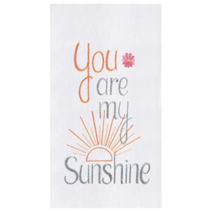 YOU ARE MY SUNSHINE TOWEL